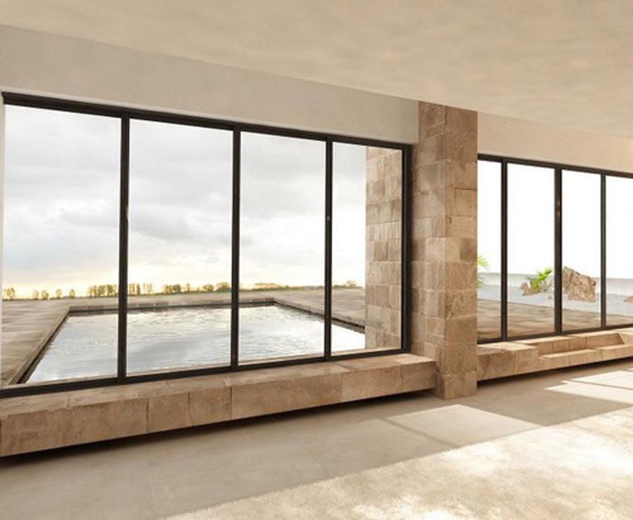 Trendy alcuni dei modelli di verande e vetrate in vendita for Le belle vetrate scorrevoli